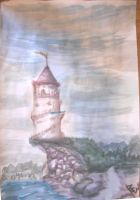 Light House - Painting Class by leenos