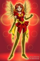 Dark Sailor Phoenix by DelphineNQ