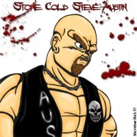 Anime Style Steve Austin by MarvelousMark