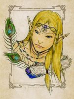 Lythander the Elven Prince by SerenaVerdeArt