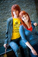 The Weasley Siblings by FrauleinNinja