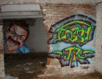 Graffiti Wall by TCosbyJr