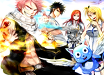 FAIRY TAIL TEAM POWA by Shumijin
