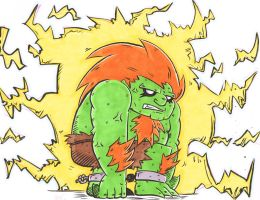 Blanka...ELECTRIFIED!! by MattVincent
