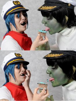 GoRiLLaZ: The Cupcake by Galefic