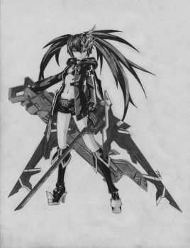 Black Rock Shooter by 73RO