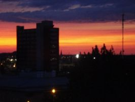 Sunset at CEGEP by fishifishy