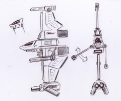 vertical oriented fighter... by Jepray