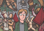 Party in Silent Hill by Yamallow
