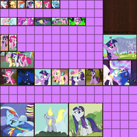 Minecraft Pony Paintings Pack by Thorinair