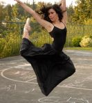 Ballerina in the park - 4 by Waldo-WasInMyCloset