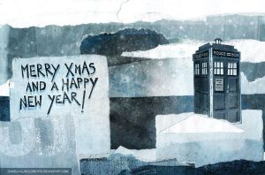 tardis freezing by greyfin