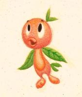 The Orange Bird by PlutoEmmaLoo