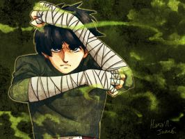 ROCK LEE 2 by harasmnt
