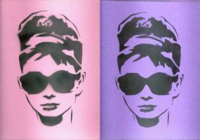 audrey hepburn twice by louuu