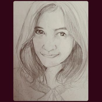 Portraiture drawing by kucai