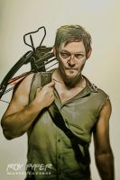 The Walking Dead: Daryl: Crayon Re-Edit by nerdboy69