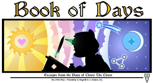 Book of Days - Cover by WarrenHutch