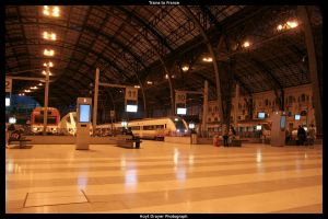 Trains to France by HerrDrayer
