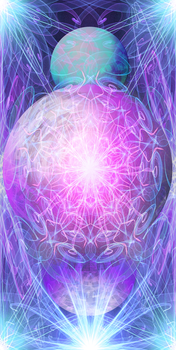 Planetary Alignment energy art by NeoGzus