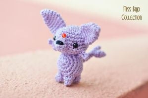 Espeon by MissBajoCollection