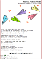 Paper Planes dA Journal Skin by cascade388