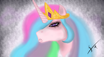 Princess Celestia by gsomv