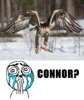 CONNOR? by VChrisi