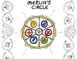 Encantus Merlin's Circle by Jeffrey-Scott
