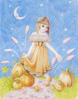 Candy Corn Princess by lillydiaart