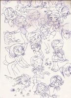Doodles at AnimExtreme 08 by MarcosBnPinto