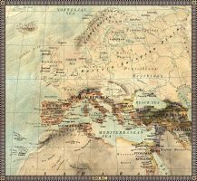 Europe in 100 B.C. by JaySimons