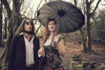steampunk couple by carolinesphotos