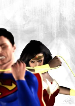 Truth. Justice. Liberty? by theflamingskull