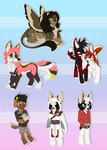 Page Chibi Batch 14. by KingNeroche