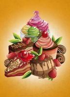 dessert illustration by jml2art