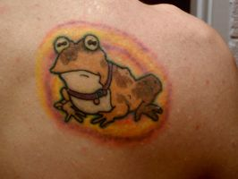 Hypnotoad Tattoo by voldrix