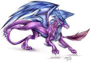 Furry Dragon by DRagonka