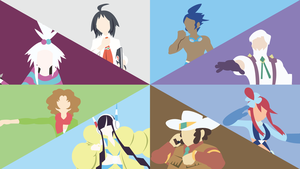 Unova Gym Leaders Comp. (Black 2/White 2) by DashingHero