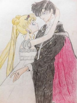 Sailor Moon Scribbles - 1 - by Serenity78
