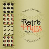 Retro Fruits Patterns by Romenig