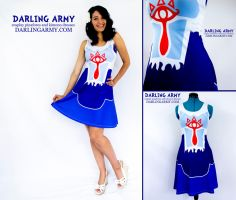 Sheik Legend of Zelda Cosplay Dress by DarlingArmy