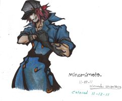 minamimoto colored by ansem-the-dead