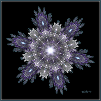 Snowflake by Night I by baba49