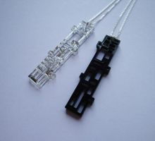 Rectangles Pendant by TLari