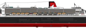 Queen Mary 2 by lupin3ITA