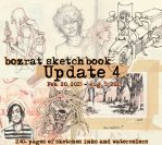 Sketchbook Update #4 Feb. 20 - Aug. 5, 2015 by HJeojeo