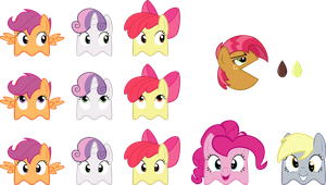CMC Babs Seed Pac-a-like Set by caffeinejunkie