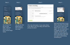 Tumblr Tutorial - Blogs for Tards! by xRozen-Basesx