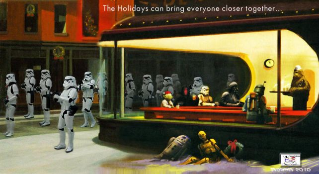 Star Wars - The Holidays by TheSnowman10